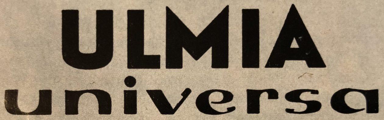 Ulmia Universa K – Die vielseitige kleine mechanische Tischlerwerkstatt