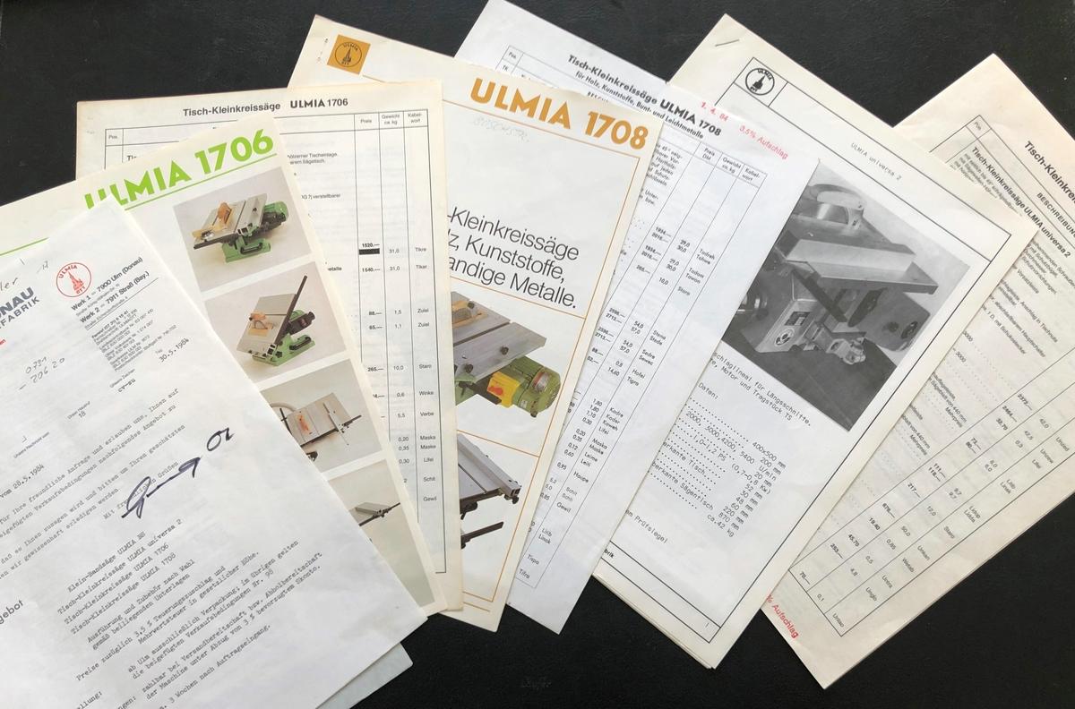 Ulmia Dokumente
