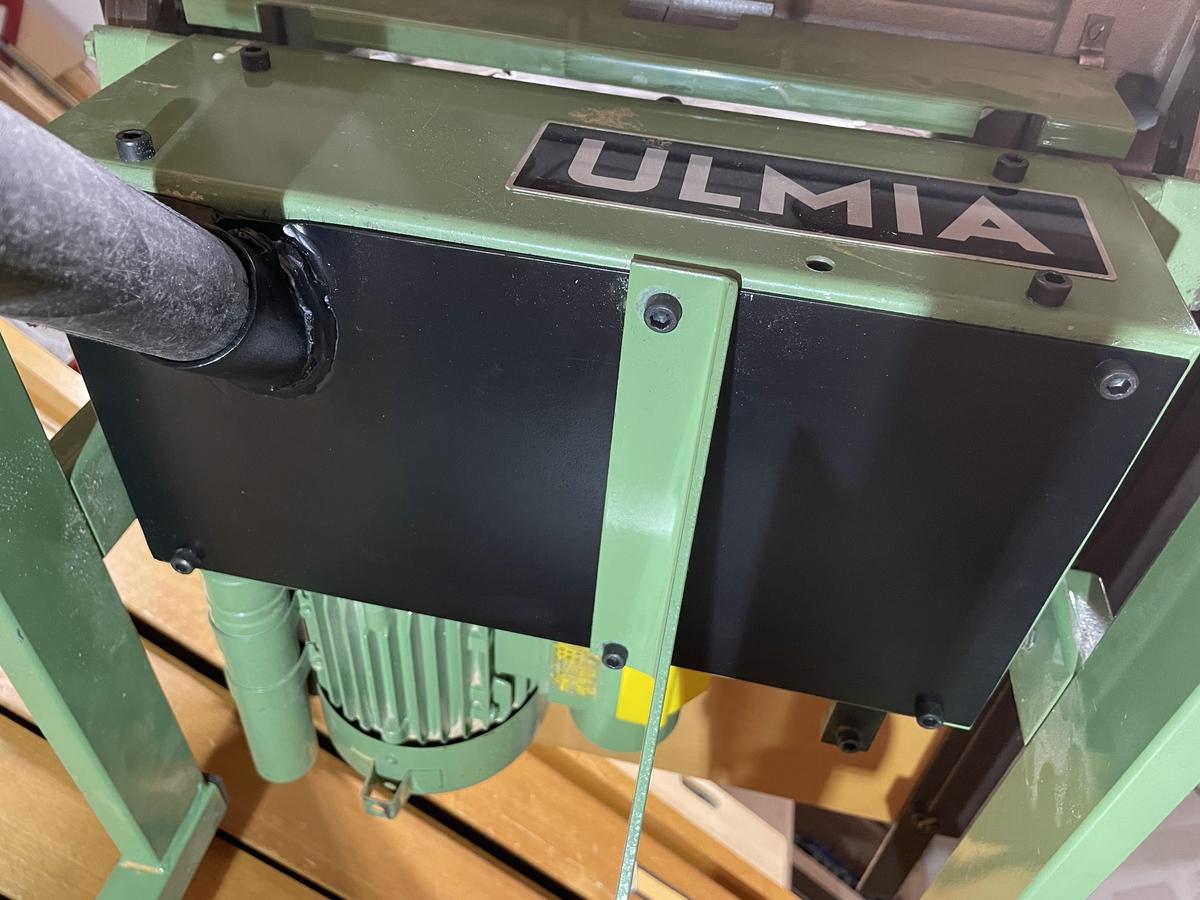 Ulmia 1708 Absaugung