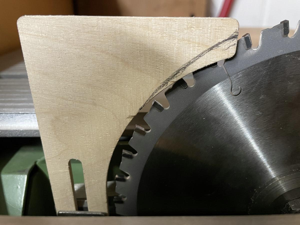 Ulmia 1708 modifizierter Spaltkeil für Nutschnitte