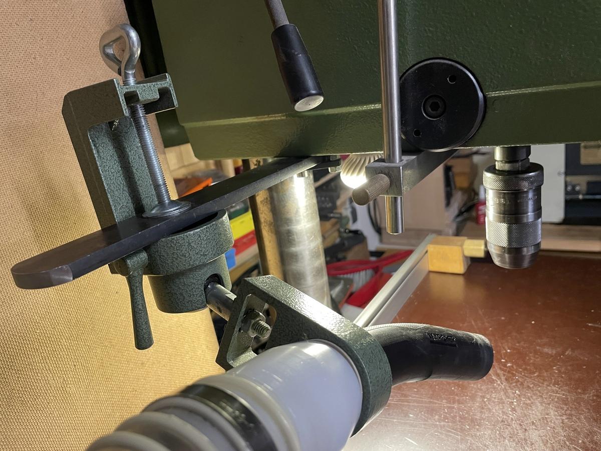 Flott TB 13 ST electronic Modifikation Absaugung