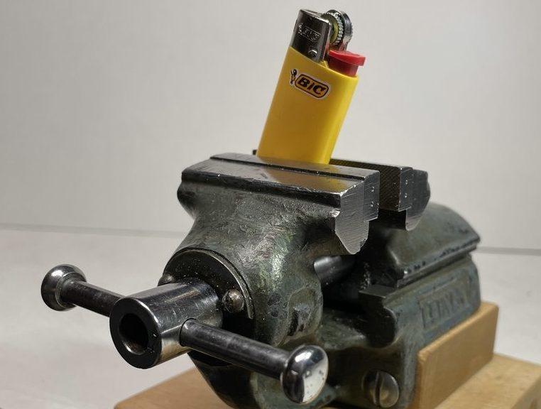 Leinen Schraubstock R 50mm für Uhrmacher & Goldschmiede